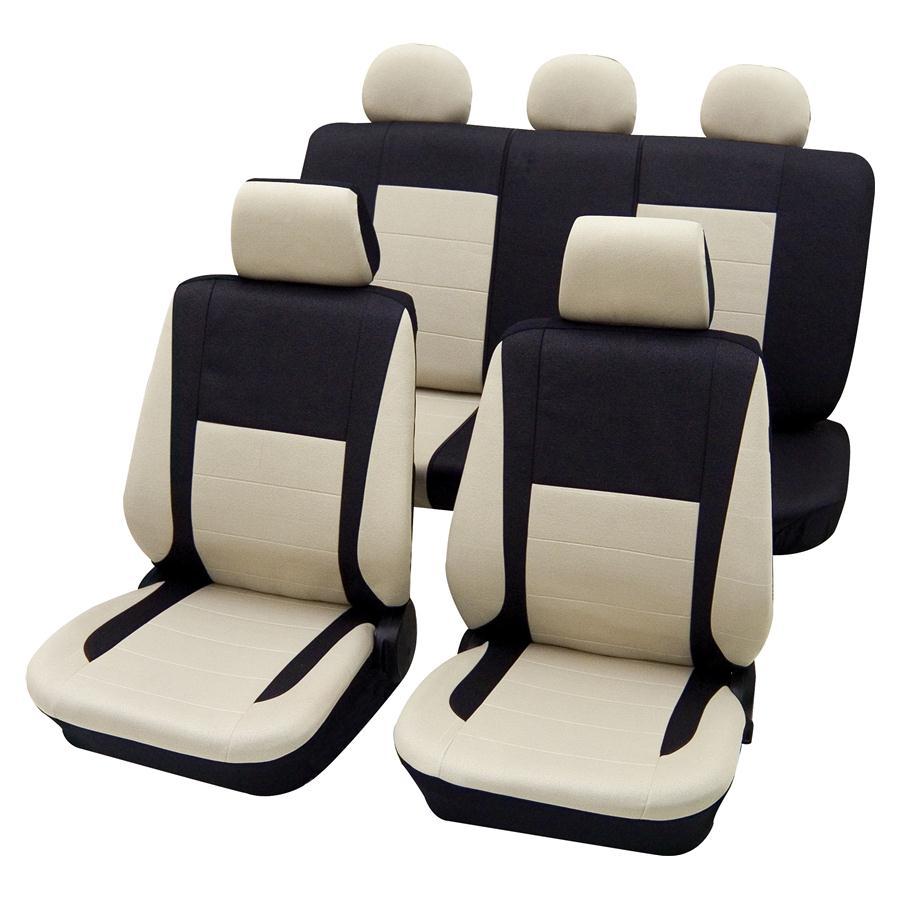 elegance auto sitzbez ge schonbez ge sitzbezug leder optik neu ebay. Black Bedroom Furniture Sets. Home Design Ideas