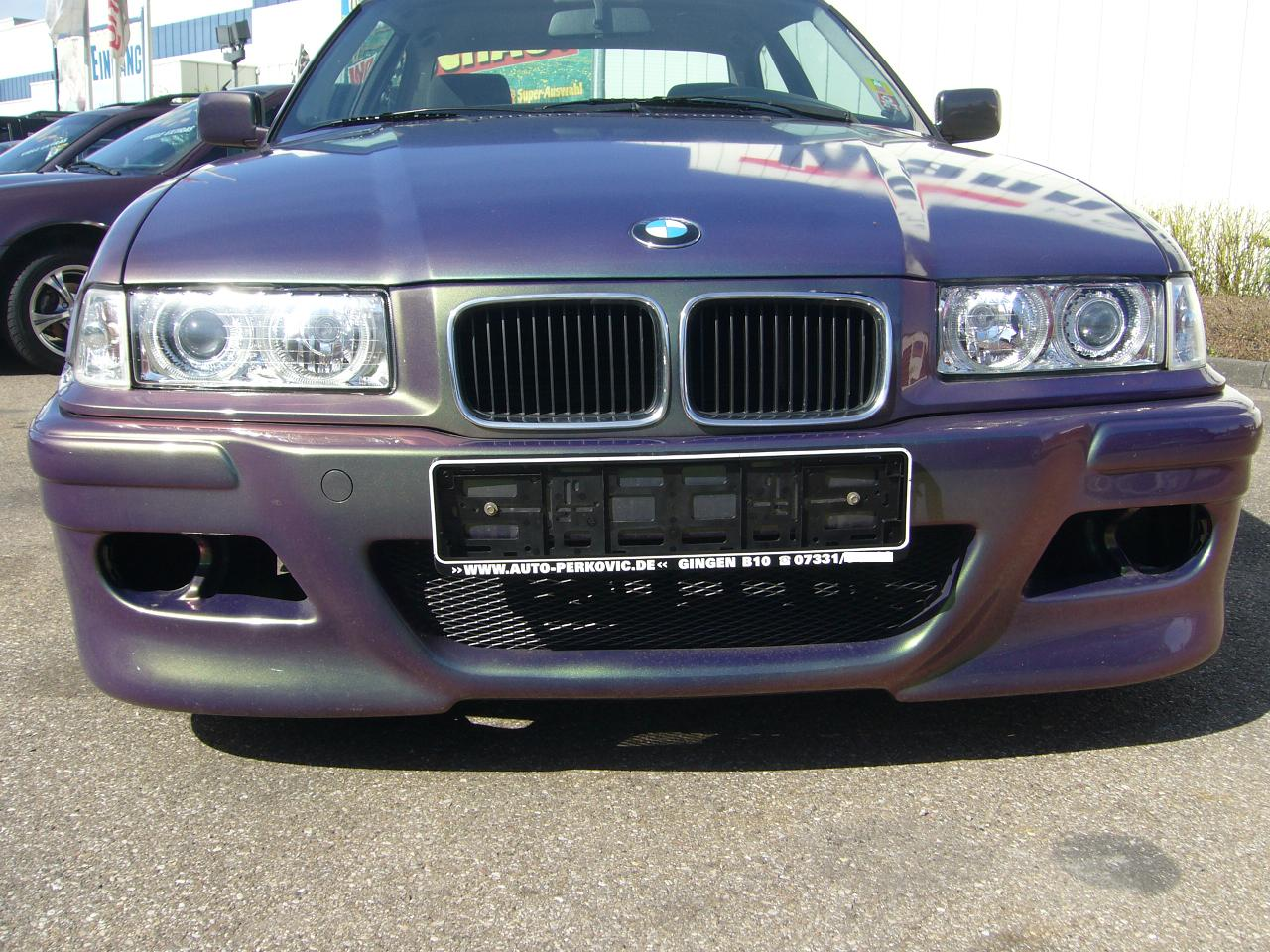 scheinwerfer angel eyes bmw e36 3er limo chrom depo ebay. Black Bedroom Furniture Sets. Home Design Ideas