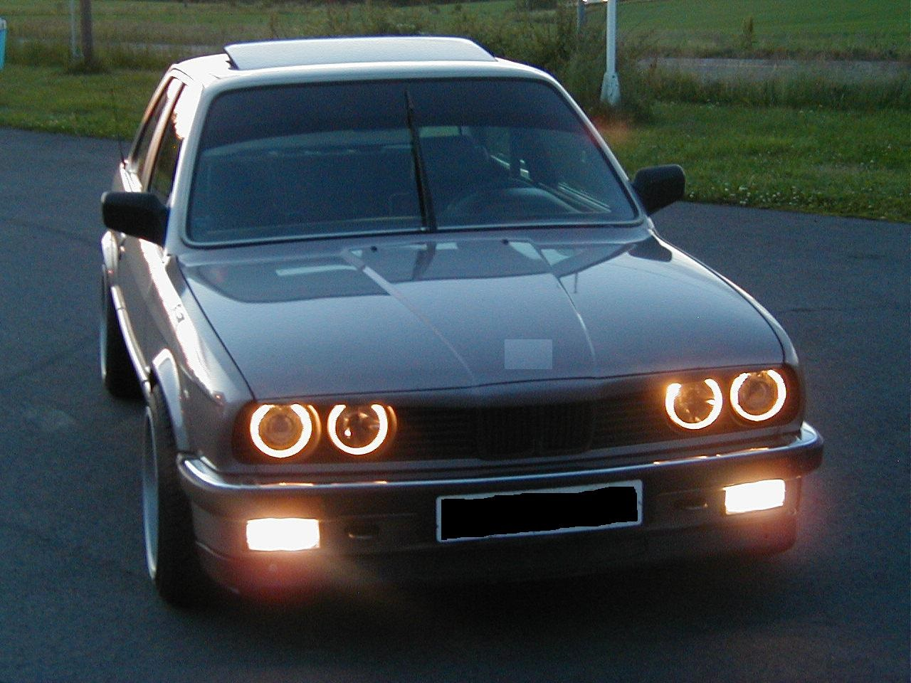 angel eyes scheinwerfer r ckleuchten bmw e30 chrom ebay. Black Bedroom Furniture Sets. Home Design Ideas