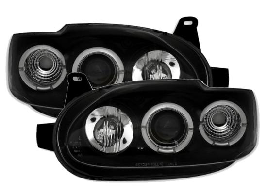 Ford Escort Scheinwerfer schwarz